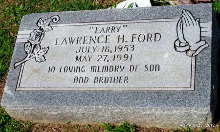 """FORD, LAWRENCE H """"LARRY"""" - Lee County, Arkansas   LAWRENCE H """"LARRY"""" FORD - Arkansas Gravestone Photos"""