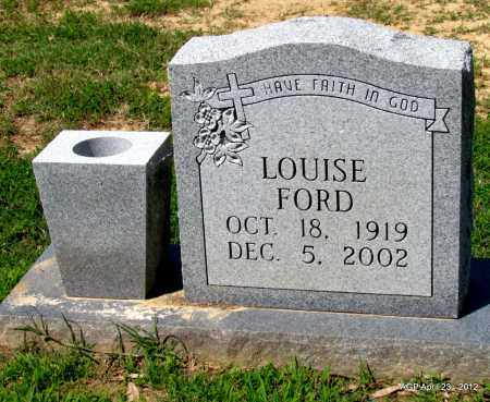 FORD, LOUISE - Lee County, Arkansas | LOUISE FORD - Arkansas Gravestone Photos