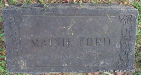 FORD, MATTIE - Lee County, Arkansas | MATTIE FORD - Arkansas Gravestone Photos