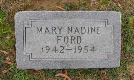 FORD, MARY NADINE - Lee County, Arkansas | MARY NADINE FORD - Arkansas Gravestone Photos