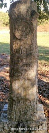 HIGGINBOTTOM, SAMUEL L  (OVERVIEW) - Lee County, Arkansas   SAMUEL L  (OVERVIEW) HIGGINBOTTOM - Arkansas Gravestone Photos