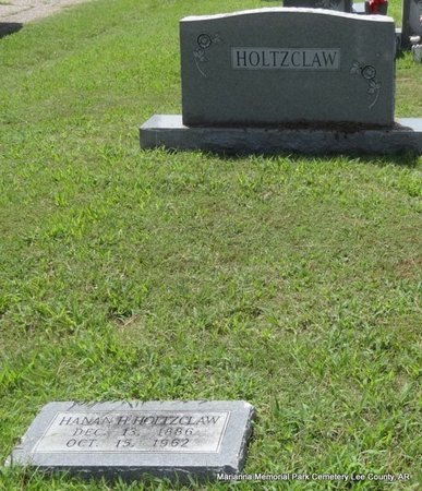 HOLTZCLAW, HANAN H (OVERVIEW) - Lee County, Arkansas   HANAN H (OVERVIEW) HOLTZCLAW - Arkansas Gravestone Photos