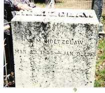 HOLTZCLAW, MARY M. - Lee County, Arkansas | MARY M. HOLTZCLAW - Arkansas Gravestone Photos