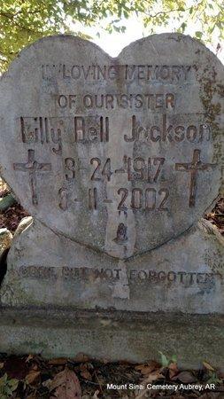 JACKSON, LILLY BELL - Lee County, Arkansas | LILLY BELL JACKSON - Arkansas Gravestone Photos