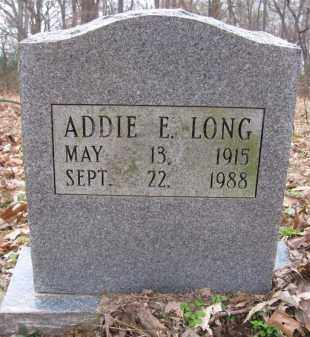 LONG, ADDIE E - Lee County, Arkansas | ADDIE E LONG - Arkansas Gravestone Photos