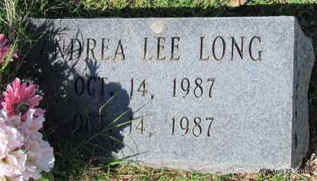 LONG, ANDREA LEE - Lee County, Arkansas | ANDREA LEE LONG - Arkansas Gravestone Photos