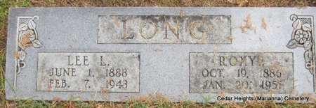 LONG, ROXYE - Lee County, Arkansas | ROXYE LONG - Arkansas Gravestone Photos