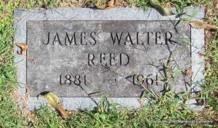 REED, JAMES WALTER (CLOSE UP) - Lee County, Arkansas   JAMES WALTER (CLOSE UP) REED - Arkansas Gravestone Photos