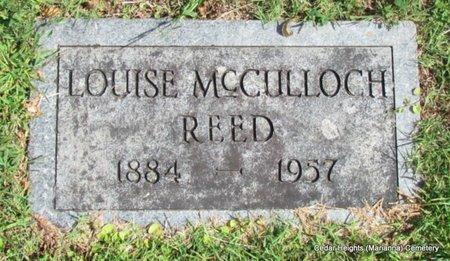 REED, LOUISE (CLOSE UP) - Lee County, Arkansas | LOUISE (CLOSE UP) REED - Arkansas Gravestone Photos