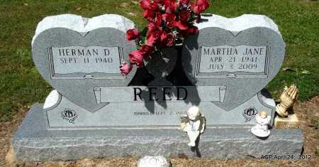 REED, MARTHA JANE - Lee County, Arkansas | MARTHA JANE REED - Arkansas Gravestone Photos