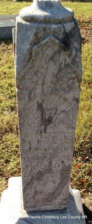 ROBUCK, M IRENE - Lee County, Arkansas   M IRENE ROBUCK - Arkansas Gravestone Photos