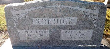 ROEBUCK, GEORGE ROBERT - Lee County, Arkansas | GEORGE ROBERT ROEBUCK - Arkansas Gravestone Photos