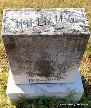 ROEMHILD, WILLIAM G - Lee County, Arkansas   WILLIAM G ROEMHILD - Arkansas Gravestone Photos