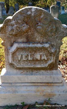 UNKNOWN, VELMA - Lee County, Arkansas   VELMA UNKNOWN - Arkansas Gravestone Photos