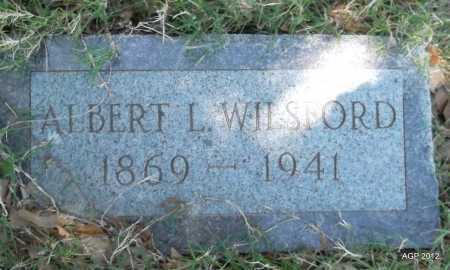 WILSFORD, ALBERT L - Lee County, Arkansas | ALBERT L WILSFORD - Arkansas Gravestone Photos