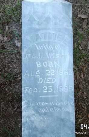 WILSFORD, MATTIE E - Lee County, Arkansas | MATTIE E WILSFORD - Arkansas Gravestone Photos