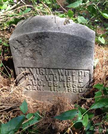 WOMBLE, ALVIRIA - Lee County, Arkansas | ALVIRIA WOMBLE - Arkansas Gravestone Photos
