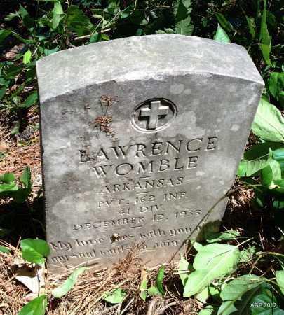 WOMBLE (VETERAN), LAWRENCE - Lee County, Arkansas | LAWRENCE WOMBLE (VETERAN) - Arkansas Gravestone Photos