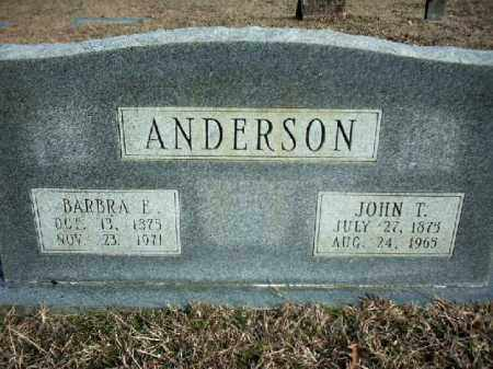 ANDERSON, BARBRA ELIZABETH - Lincoln County, Arkansas | BARBRA ELIZABETH ANDERSON - Arkansas Gravestone Photos