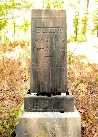 BOYD (VETERAN CSA), JAMES C - Lincoln County, Arkansas   JAMES C BOYD (VETERAN CSA) - Arkansas Gravestone Photos