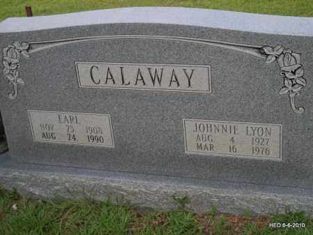 CALAWAY, JOHNNIE LYON - Lincoln County, Arkansas | JOHNNIE LYON CALAWAY - Arkansas Gravestone Photos