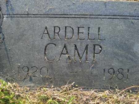 LUNSFORD CAMP, ARDELL - Lincoln County, Arkansas | ARDELL LUNSFORD CAMP - Arkansas Gravestone Photos