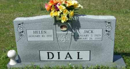 "DIAL, P JACKSON ""JACK"" - Lincoln County, Arkansas | P JACKSON ""JACK"" DIAL - Arkansas Gravestone Photos"
