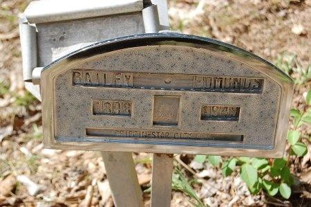 EDMONDS, BAILEY - Lincoln County, Arkansas | BAILEY EDMONDS - Arkansas Gravestone Photos