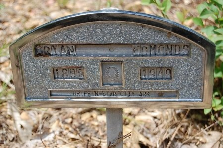 EDMONDS, BRYAN - Lincoln County, Arkansas | BRYAN EDMONDS - Arkansas Gravestone Photos