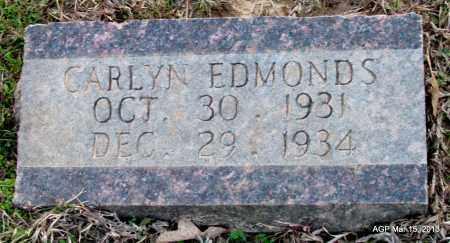 EDMONDS, CARLYN - Lincoln County, Arkansas | CARLYN EDMONDS - Arkansas Gravestone Photos