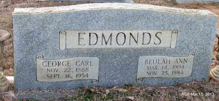MORRISON EDMONDS, BEULAH ANN - Lincoln County, Arkansas | BEULAH ANN MORRISON EDMONDS - Arkansas Gravestone Photos