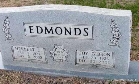 EDMONDS, HERBERT C - Lincoln County, Arkansas | HERBERT C EDMONDS - Arkansas Gravestone Photos