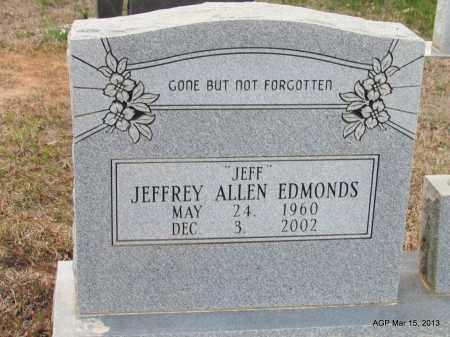 "EDMONDS, JEFFREY ALLEN ""JEFF"" - Lincoln County, Arkansas | JEFFREY ALLEN ""JEFF"" EDMONDS - Arkansas Gravestone Photos"