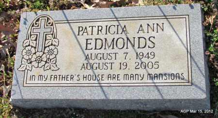 EDMONDS, PATRICIA ANN - Lincoln County, Arkansas | PATRICIA ANN EDMONDS - Arkansas Gravestone Photos