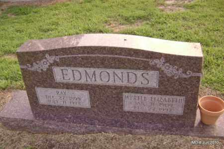 EDMONDS, MYRTLE ELIZABETH - Lincoln County, Arkansas | MYRTLE ELIZABETH EDMONDS - Arkansas Gravestone Photos