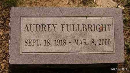 FULLBRIGHT, AUDREY - Lincoln County, Arkansas | AUDREY FULLBRIGHT - Arkansas Gravestone Photos