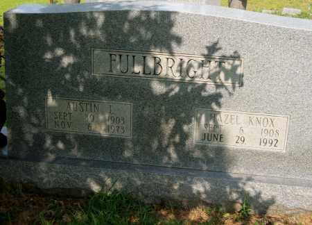 FULLBRIGHT, HAZEL - Lincoln County, Arkansas | HAZEL FULLBRIGHT - Arkansas Gravestone Photos
