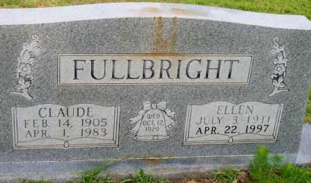 FULLBRIGHT, ELLEN - Lincoln County, Arkansas | ELLEN FULLBRIGHT - Arkansas Gravestone Photos