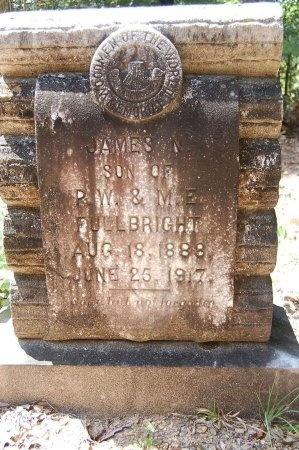 FULLBRIGHT, JAMES NICHOLAS - Lincoln County, Arkansas | JAMES NICHOLAS FULLBRIGHT - Arkansas Gravestone Photos