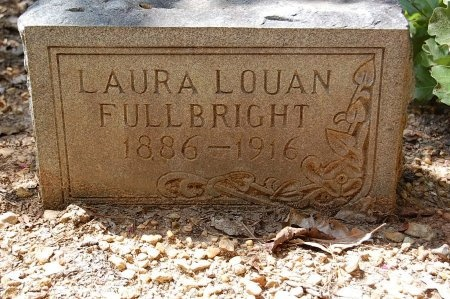 EDMONDS FULLBRIGHT, LAURA LOUAN - Lincoln County, Arkansas | LAURA LOUAN EDMONDS FULLBRIGHT - Arkansas Gravestone Photos