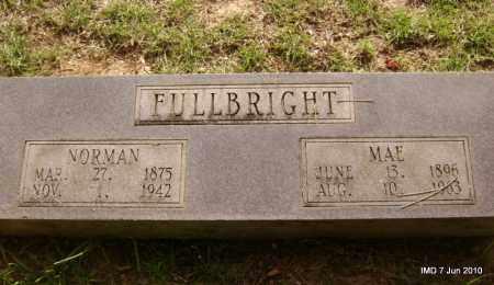 FULLBRIGHT, MAE - Lincoln County, Arkansas   MAE FULLBRIGHT - Arkansas Gravestone Photos