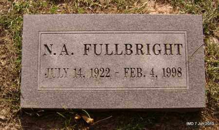 FULLBRIGHT, N A - Lincoln County, Arkansas | N A FULLBRIGHT - Arkansas Gravestone Photos