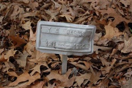 HARRIS, Y. C. - Lincoln County, Arkansas | Y. C. HARRIS - Arkansas Gravestone Photos