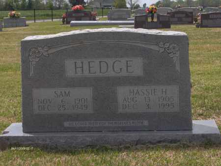 HOLLAND HEDGE, HASSIE - Lincoln County, Arkansas | HASSIE HOLLAND HEDGE - Arkansas Gravestone Photos