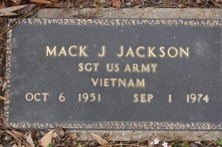 JACKSON (VETERAN VIET), MACK J - Lincoln County, Arkansas   MACK J JACKSON (VETERAN VIET) - Arkansas Gravestone Photos