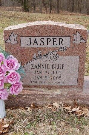 JASPER, ZANNIE BLUE - Lincoln County, Arkansas   ZANNIE BLUE JASPER - Arkansas Gravestone Photos
