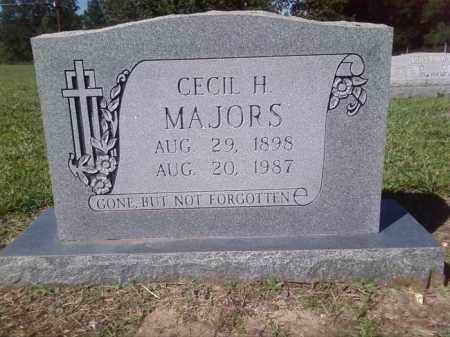 MAJORS, CECIL H - Lincoln County, Arkansas | CECIL H MAJORS - Arkansas Gravestone Photos