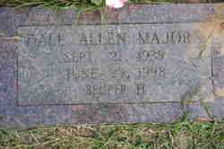 MAJORS, DALE ALLEN - Lincoln County, Arkansas   DALE ALLEN MAJORS - Arkansas Gravestone Photos