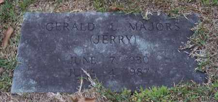 "MAJORS, GERALD L ""JERRY"" - Lincoln County, Arkansas | GERALD L ""JERRY"" MAJORS - Arkansas Gravestone Photos"