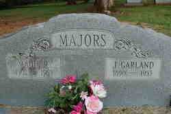 MAJORS, MADIE - Lincoln County, Arkansas   MADIE MAJORS - Arkansas Gravestone Photos